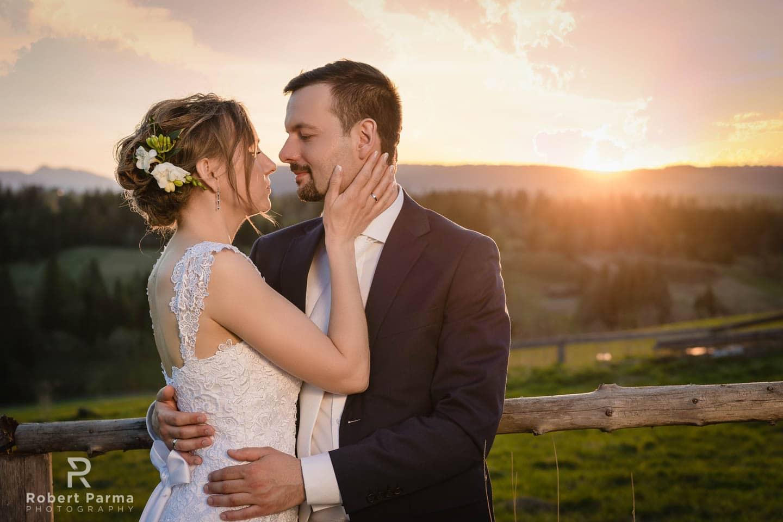 zdjęcia plener ślubny w tatrach