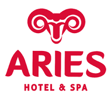logo aries hotel and spa