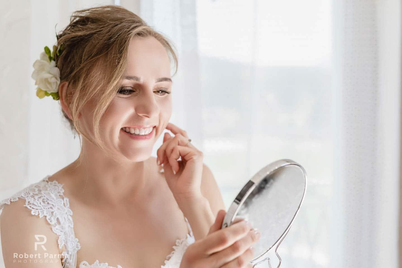 przygotowania ślub fotograf
