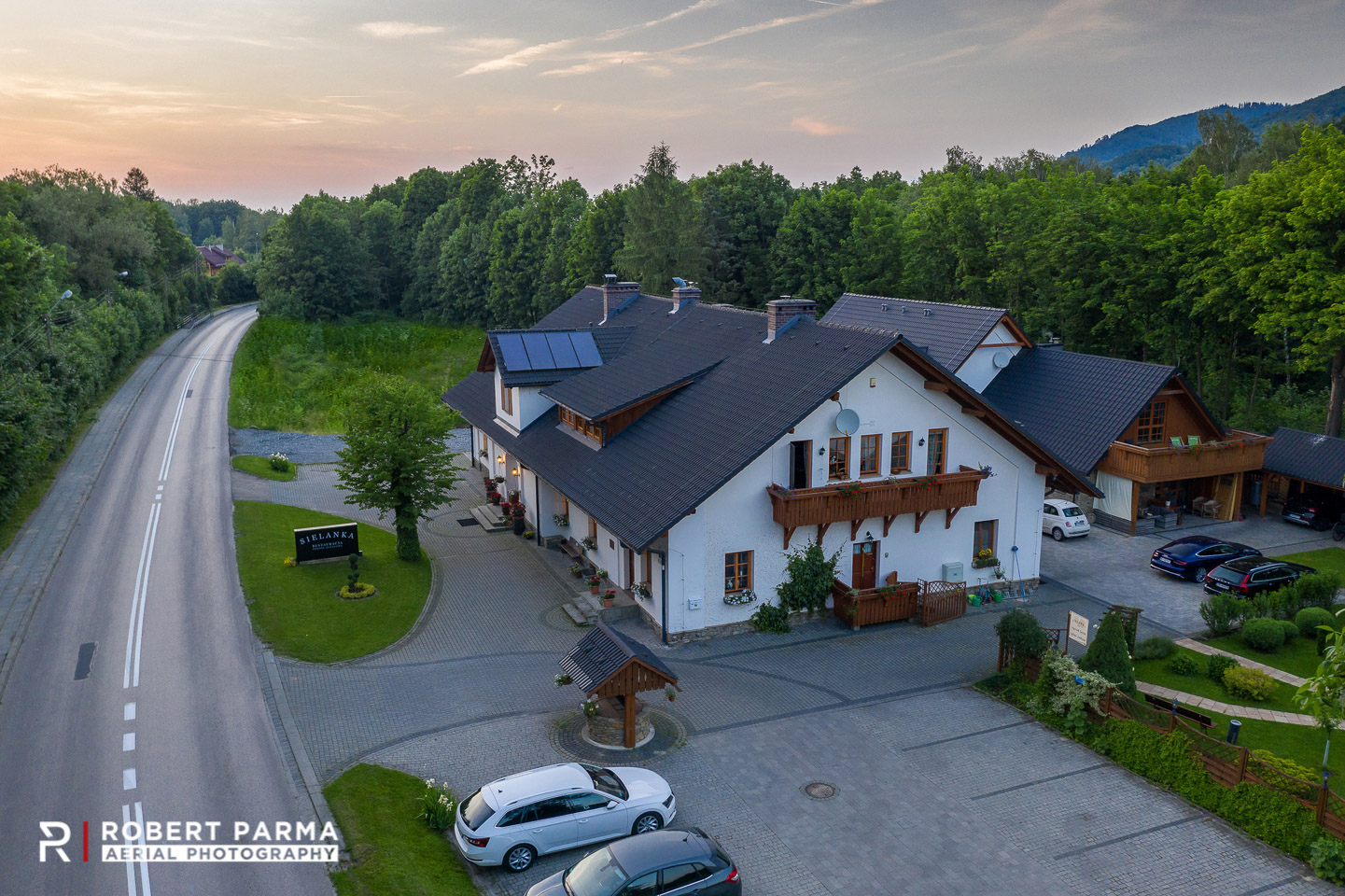 Aerial photography by Robert Parma